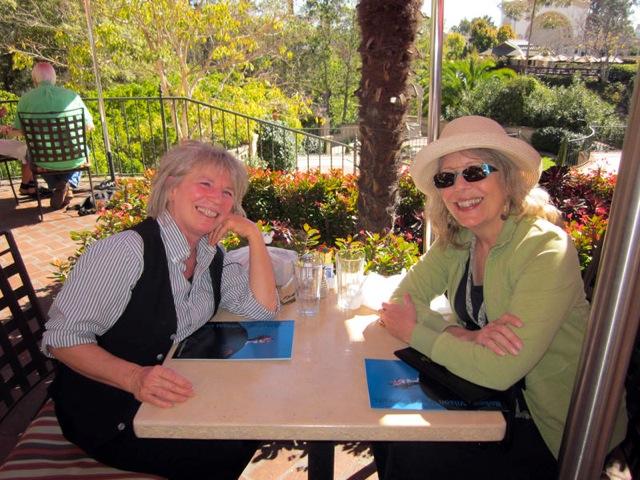 Anne and Diane at Prado